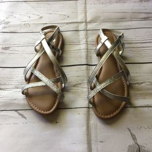 Justice girls sandals